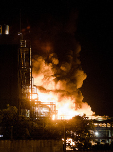 Chemical and Industrial Fires - credit Deacon MacMillan
